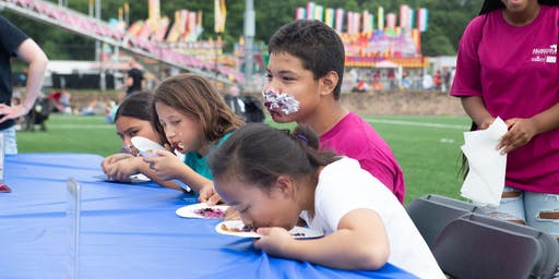 2019 Arlington County Fair Pie Eating Championship