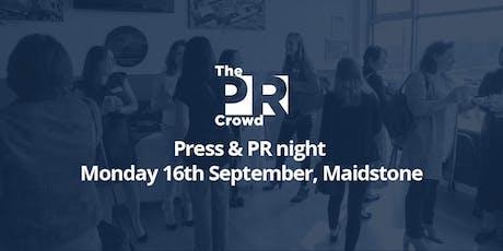 The PR Crowd - Press & PR night tickets