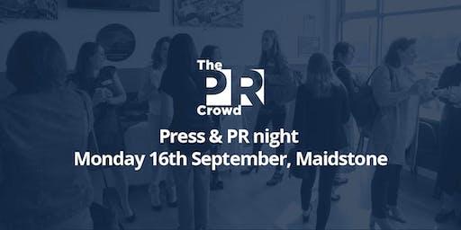 The PR Crowd - Press & PR night