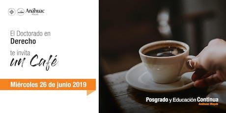 Café Informativo - Doctorado en Derecho boletos