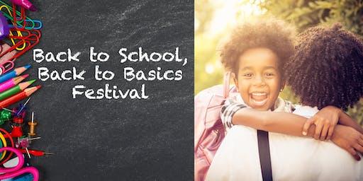 #Ada100:  Back-to-School, Back-to-Basics Festival