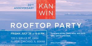 30th Anniversary KAN-WIN Rooftop Party