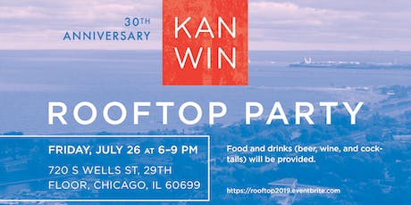 30th Anniversary KAN-WIN Rooftop Party tickets