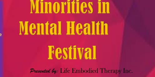 Minorities In Mental Health Festival