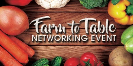 Goldkap Farm To Table Business Networking Event tickets