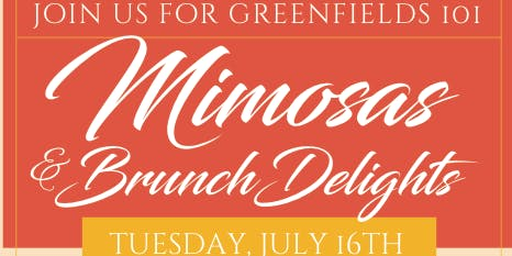 GreenFields 101 Mimosas & Brunch Delights