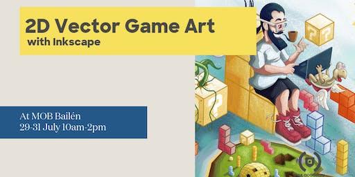 Introducción al Game Art 2D vectorial con Inkscape