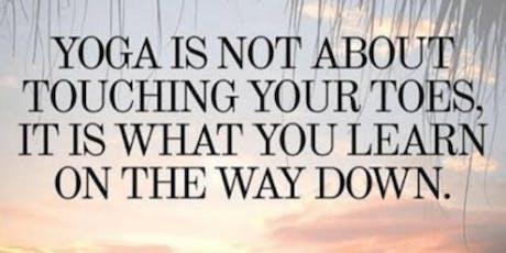 Beginners gentle yoga flow tickets
