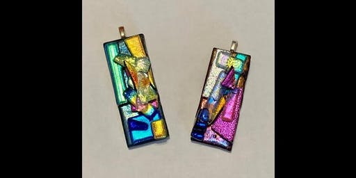 Make Your Own Stacked Dichroic Glass Pendant - Friday, August 2 at 8:15am