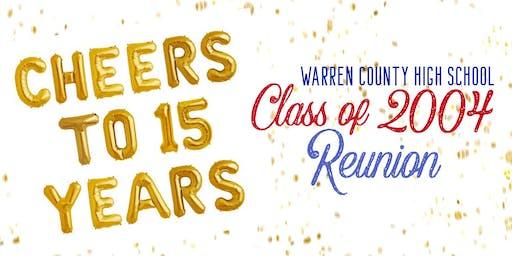 Warren County High School 15-Year Reunion