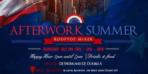 JI Group Afterwork Summer Rooftop Mixer