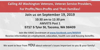 Commander's Call - Governor's Veterans Affairs Advisory Committee (VAAC)