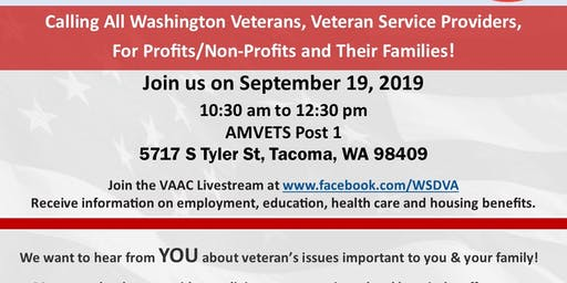 Commander's Call - Governor's Veterans Affairs Advisory Committee (VAAC)