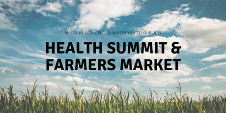 Growing a Healthy Community: POI Health Summit and Farmers Market tickets