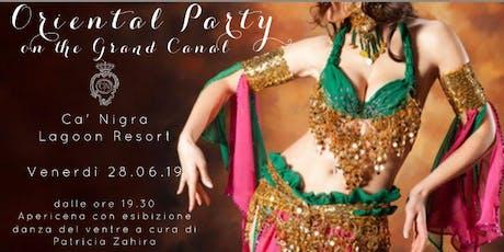 Oriental party biglietti