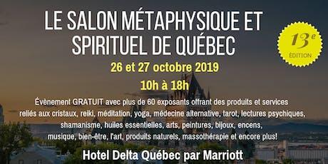 Le Salon Métaphysique et Spirituel De Québec billets