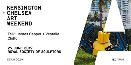 Talk: James Capper + KCAW Director Vestalia Chilton tickets