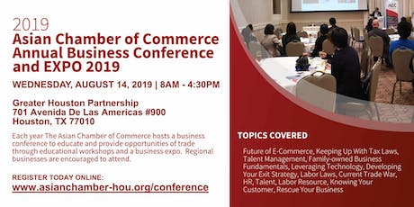 Asian Chamber of Commerce Houston - Business Conference tickets