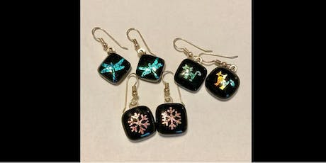Make Your Own Acid Etched Dichroic Glass Earrings  - Saturday, August 3 at 1:00pm tickets
