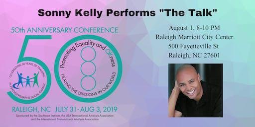 "Sonny Kelly Performs ""The Talk"""