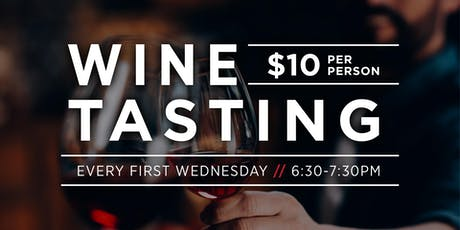 $10 Wine Tasting: Rose, White and Blue tickets