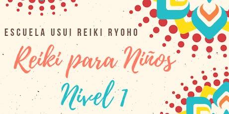 Primer Nivel de Reiki para Niños/as tickets