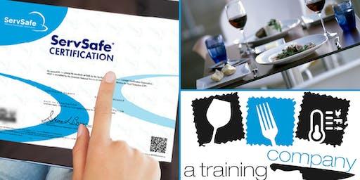 SACRAMENTO, CA : ServSafe® Food Manager Certification Training + Exam