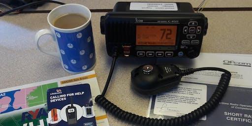 VHF Radio Course (SRC) - Poole, Dorset - One day course