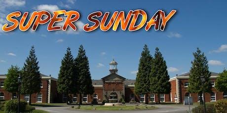 Super Sunday tickets