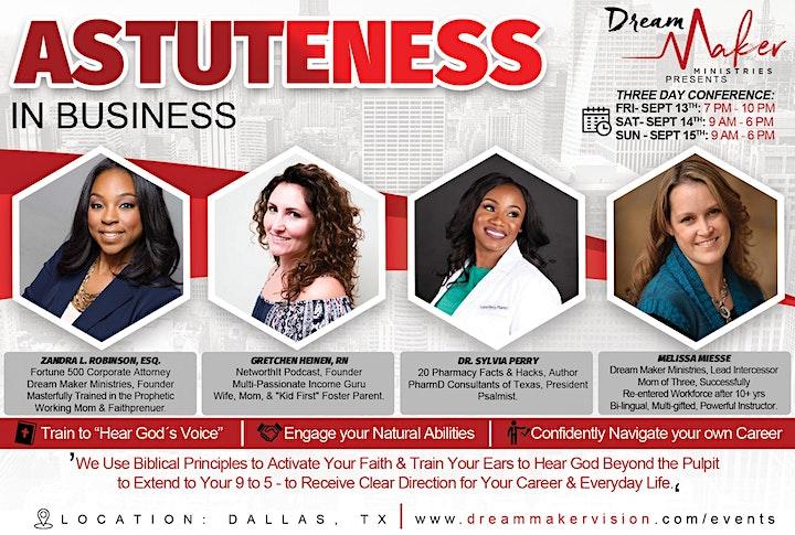 Astuteness In Business image