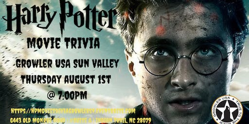 Harry Potter Movies Trivia at Growler USA Sun Valley