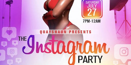 The Instagram Party: Live Studio Photoshoot