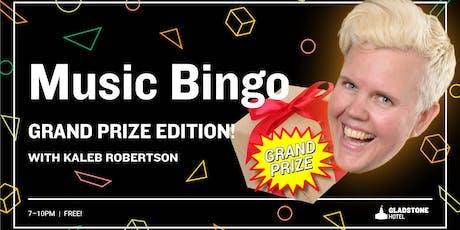 Music Bingo Grand Prize w/ Steamwhistle tickets