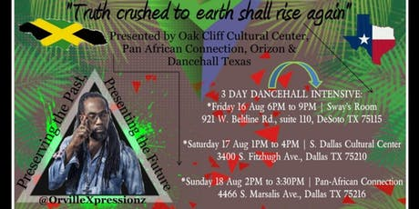 DANCEHALL INTENSIVE TEXAS tickets