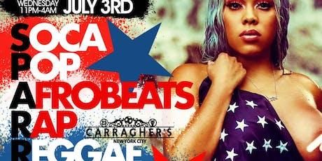 S.P.A.R.R.K.S We Present Soca, Pop, AfroBeats ,Rap, Reggae, Kompa & Spanish Music All In1 tickets