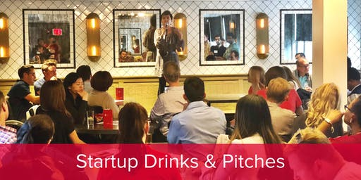 Startup Drinks & Pitches