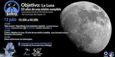 Objetivo:La Luna. 50 años de una mision cumplida. entradas