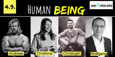 Charity Speaker Event: HUMAN BEING #3 billets