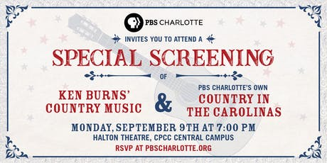 Ken Burns' Country Music & PBS Charlotte's Country in the Carolinas tickets