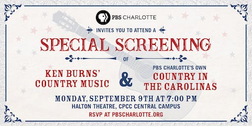 Ken Burns' Country Music & PBS Charlotte's Country in the Carolinas