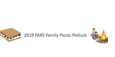 2019 FAKS Family Potluck  tickets