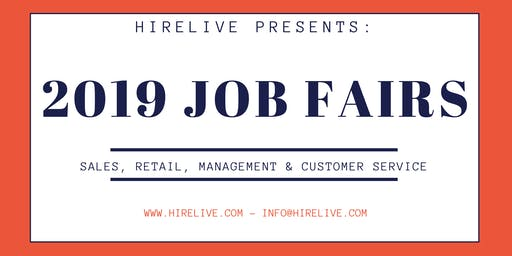 San Jose Sales Job Fair