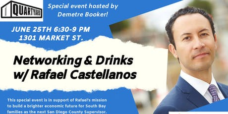 Networking & Drinks with Rafael Castellanos  tickets