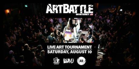 Art Battle Monterey - August 10, 2019 tickets