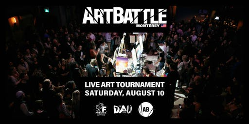 Art Battle Monterey - August 10, 2019