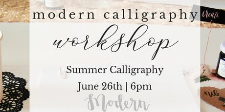 Modern Calligrpahy by the Sea | L'Auberge Del Mar tickets