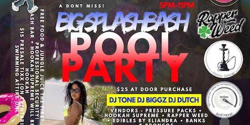 Big Splash Bash Pool Party