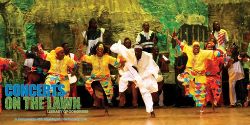 KanKouran West African Dance Company [Summer Concerts on the Lawn]