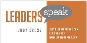 Leaders Speak Kansas City - Public Speaking Workshop...
