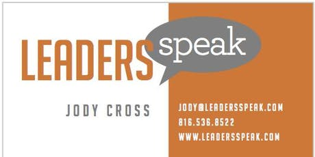 Leaders Speak Kansas City - Public Speaking Workshop (based on Amazon Best Selling Book) tickets
